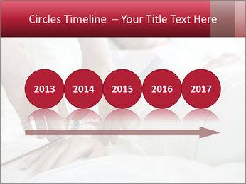 Closeup of hands PowerPoint Template - Slide 29