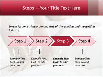Closeup of hands PowerPoint Template - Slide 4