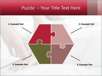 Closeup of hands PowerPoint Template - Slide 40
