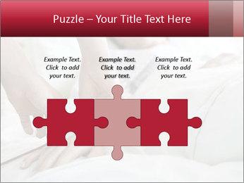 Closeup of hands PowerPoint Template - Slide 42