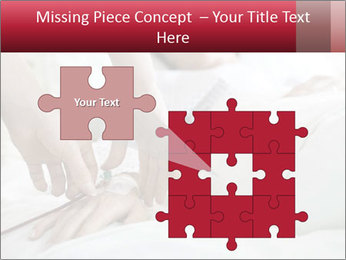 Closeup of hands PowerPoint Template - Slide 45