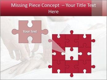 Closeup of hands PowerPoint Templates - Slide 45