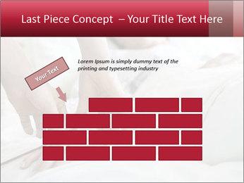 Closeup of hands PowerPoint Template - Slide 46