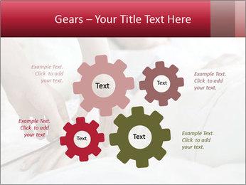 Closeup of hands PowerPoint Template - Slide 47