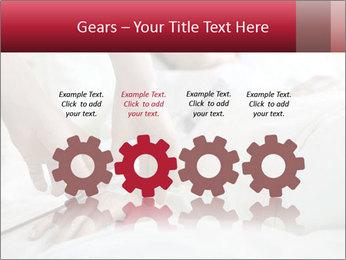 Closeup of hands PowerPoint Template - Slide 48
