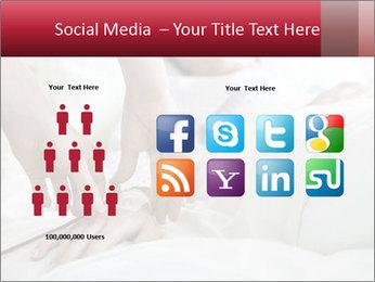 Closeup of hands PowerPoint Template - Slide 5