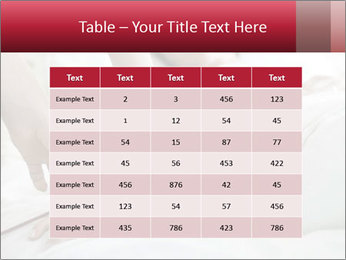 Closeup of hands PowerPoint Template - Slide 55