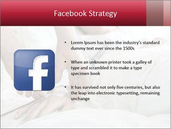 Closeup of hands PowerPoint Template - Slide 6