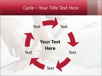 Closeup of hands PowerPoint Template - Slide 62