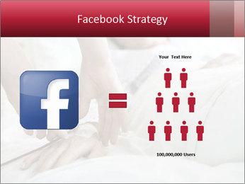 Closeup of hands PowerPoint Template - Slide 7