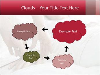 Closeup of hands PowerPoint Template - Slide 72