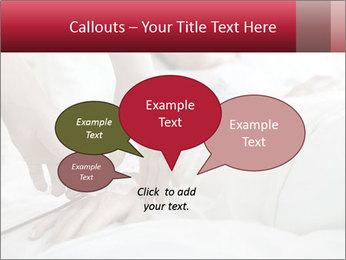 Closeup of hands PowerPoint Template - Slide 73