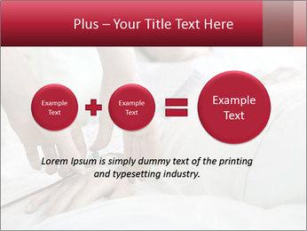 Closeup of hands PowerPoint Template - Slide 75