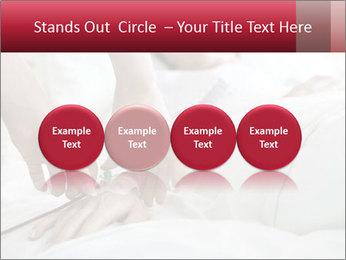 Closeup of hands PowerPoint Template - Slide 76
