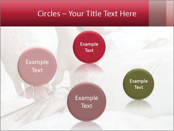Closeup of hands PowerPoint Template - Slide 77