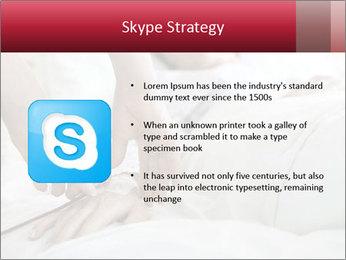 Closeup of hands PowerPoint Templates - Slide 8