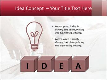 Closeup of hands PowerPoint Template - Slide 80