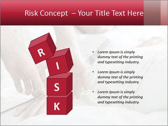 Closeup of hands PowerPoint Template - Slide 81