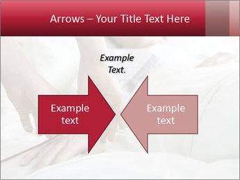 Closeup of hands PowerPoint Template - Slide 90
