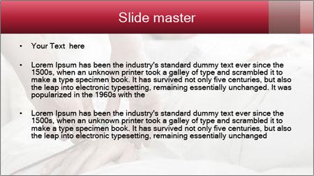 Closeup of hands PowerPoint Template - Slide 2