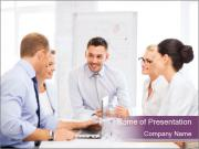 Friendly business team PowerPoint Templates