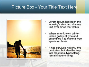 Rear view of young couple PowerPoint Templates - Slide 13