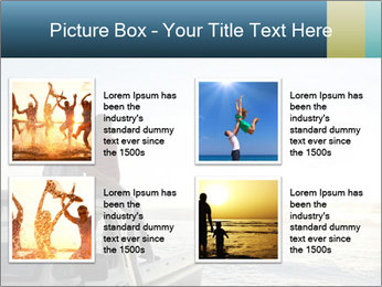 Rear view of young couple PowerPoint Templates - Slide 14