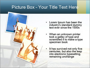Rear view of young couple PowerPoint Templates - Slide 17