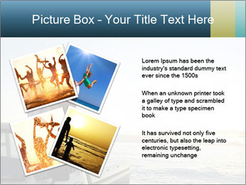 Rear view of young couple PowerPoint Templates - Slide 23