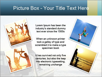 Rear view of young couple PowerPoint Templates - Slide 24