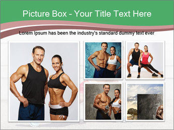Athletic young woman PowerPoint Template - Slide 19