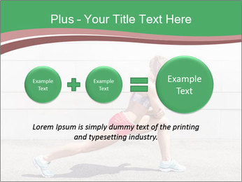 Athletic young woman PowerPoint Template - Slide 75