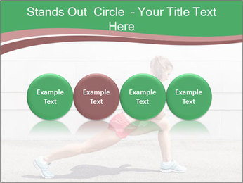 Athletic young woman PowerPoint Templates - Slide 76