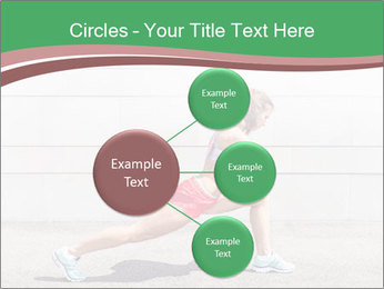 Athletic young woman PowerPoint Template - Slide 79