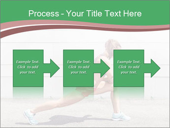 Athletic young woman PowerPoint Templates - Slide 88