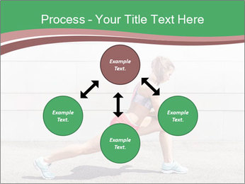 Athletic young woman PowerPoint Template - Slide 91