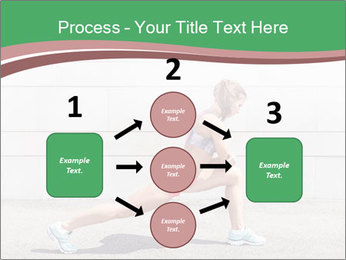 Athletic young woman PowerPoint Templates - Slide 92