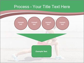 Athletic young woman PowerPoint Template - Slide 93