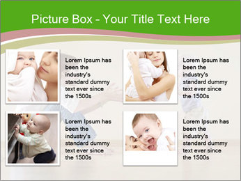 Cute smiling baby PowerPoint Templates - Slide 14