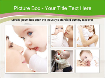 Cute smiling baby PowerPoint Templates - Slide 19