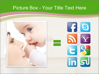 Cute smiling baby PowerPoint Templates - Slide 21