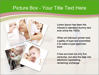 Cute smiling baby PowerPoint Templates - Slide 23