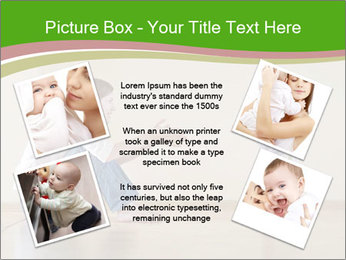 Cute smiling baby PowerPoint Templates - Slide 24