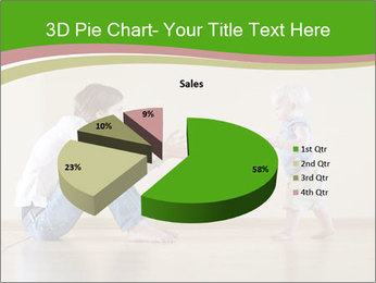 Cute smiling baby PowerPoint Templates - Slide 35