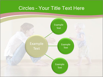 Cute smiling baby PowerPoint Templates - Slide 79