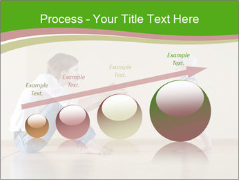 Cute smiling baby PowerPoint Templates - Slide 87