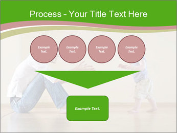 Cute smiling baby PowerPoint Templates - Slide 93