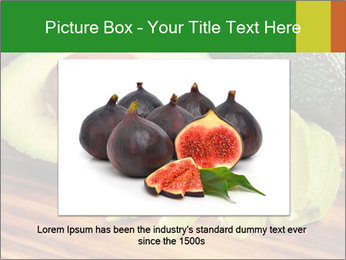 Sliced avocado PowerPoint Template - Slide 15