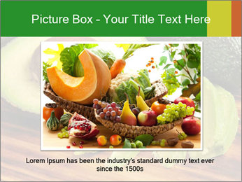 Sliced avocado PowerPoint Template - Slide 16