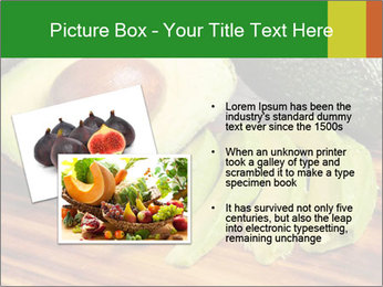 Sliced avocado PowerPoint Template - Slide 20